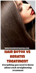 Hair Botox and Keratin Treatment both fight freezy and brittle hair. They are both designed to make hair look straight, healthy and shiny. So, the big question is: which treatment to chose and which treatment is the best for you!