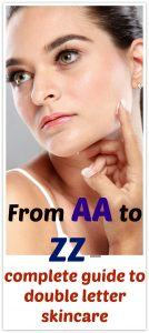 AA BB CC DD EE FF ZZ skin care guide. What is the difference between BB, CC and DD cream and how they are used.