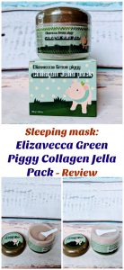 Overnight Sleeping Mask Elizavecca Green Piggy Collagen Jella pack moisturizes, nourishes, and rejuvenate the skin giving it a healthy glowing look.
