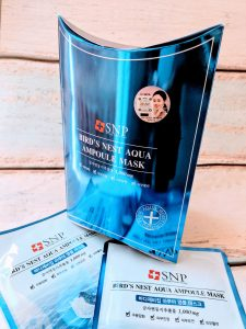 SNP Bird's Nest Aqua Ampoule Mask - Review – Modern Vintage
