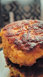Carrot pancakes coconut flour