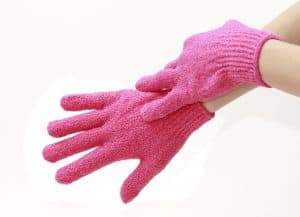 dry feet exfoliating gloves