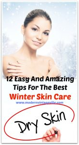 Tips for the best winter skin care dry skin