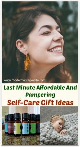 Last minute easy and affordable self-care gift ideas