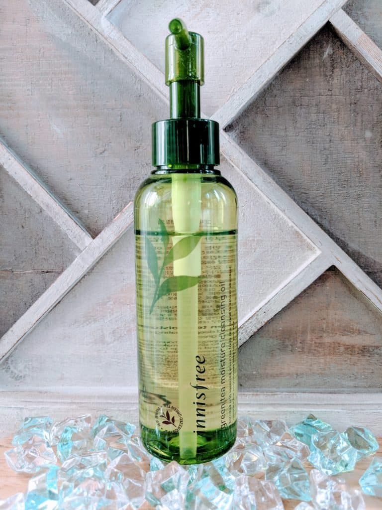 innisfree double cleaning method cleaning oil