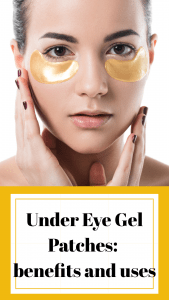 Under eye skin care: eye patches for puffiness, wrinkles, dryness and dark circles