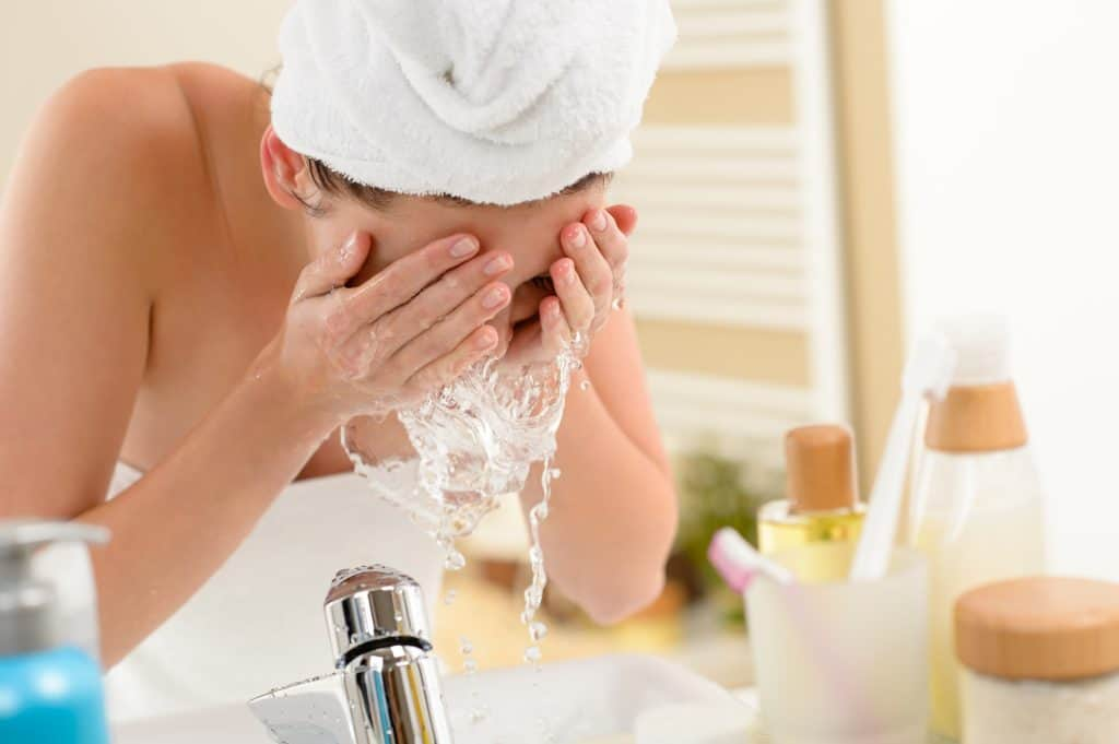 cleansing facial at home
