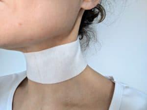 Vella Neck patch around my neck
