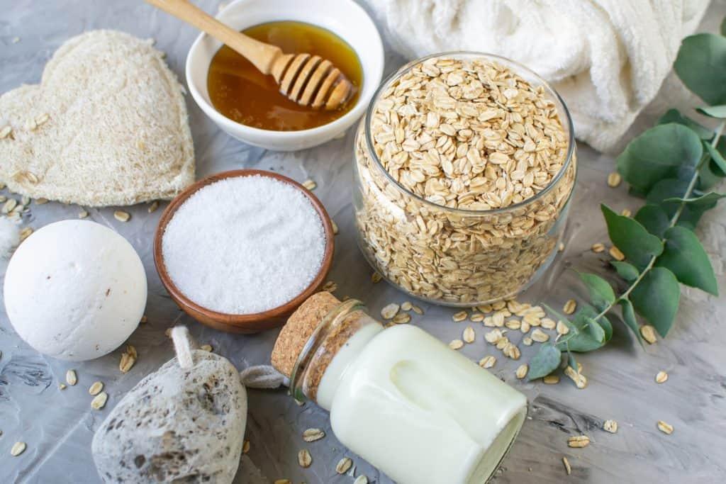 7 best homemade body scrubs for exfoliation honey oatmeal milk salt; diy body scrub