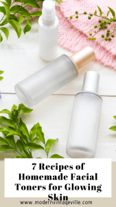 Homemade face toners are easy to make. The will help you to achieve flawless glowing skin.
