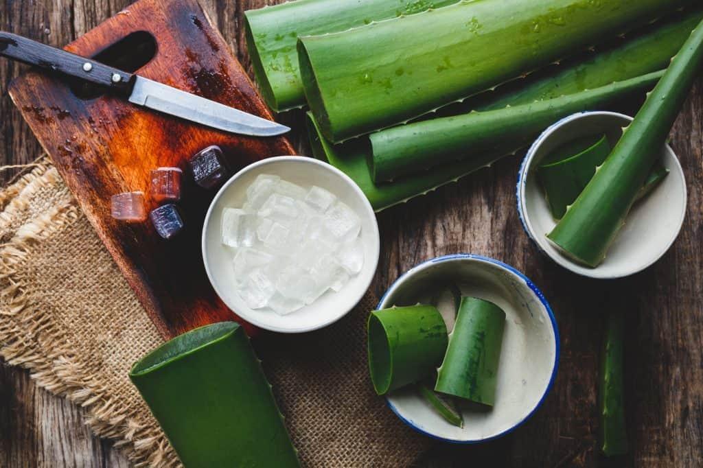 aloe vera for dry skin facial steps at home