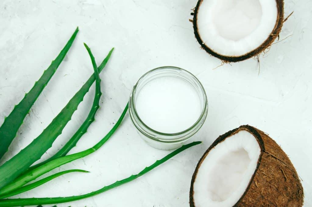 aloe vera coconut oil