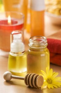 homemade honey mask