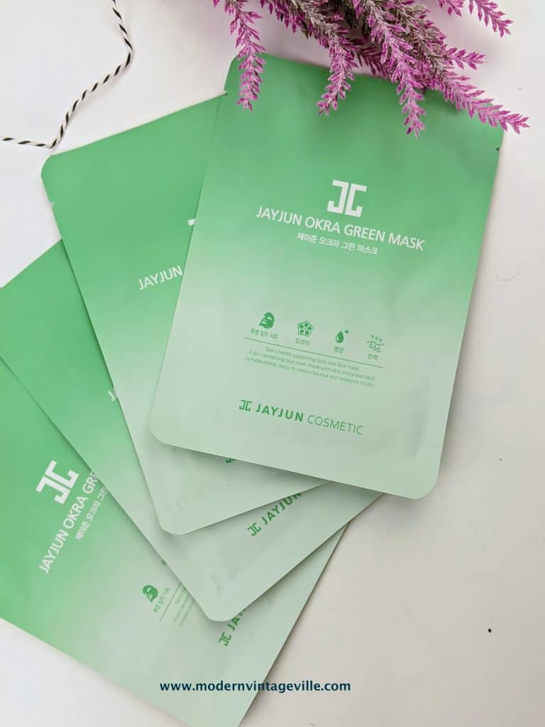 jayjun okra mask review