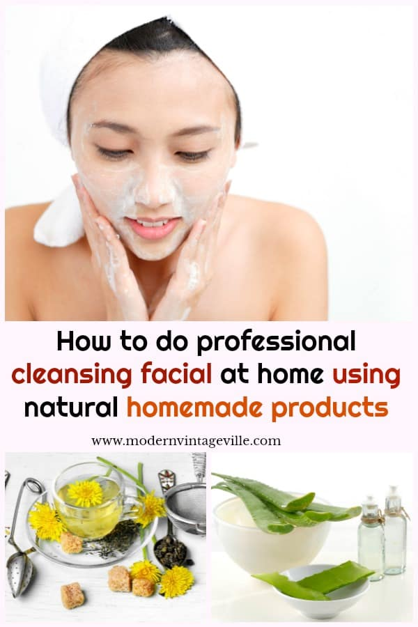 It is not hard to do facial clean up at home.  You need to follow simple steps.  If you prefer natural skincare products, you will find steps how to do facial clean up at home using natural material and homemade products.
