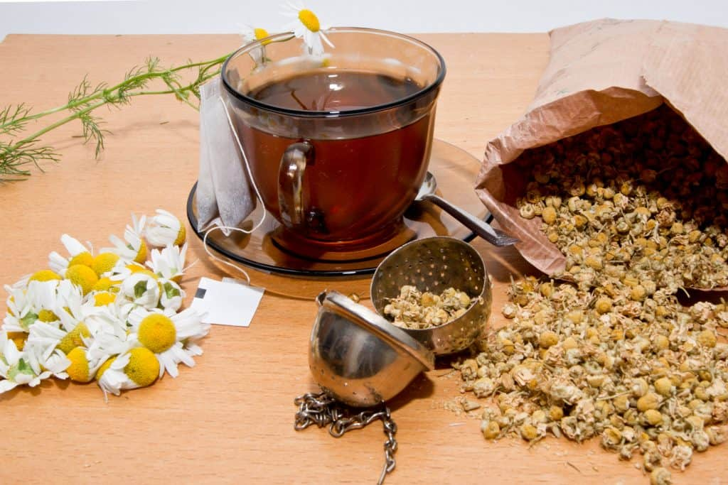 chamomile benefits for skin