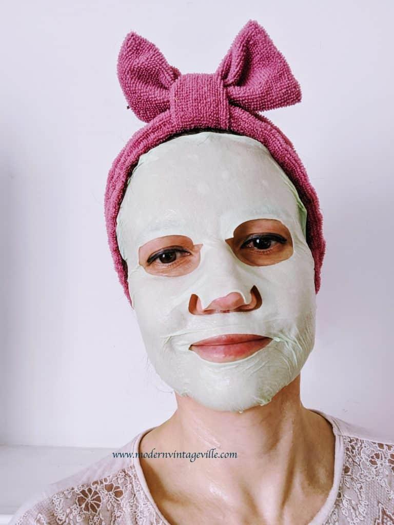 skin care sheet mask